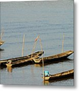 End Of A Days Fishing Metal Print