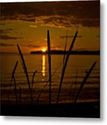 End Of A Good Day Metal Print