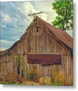 End Of An Era In Sailor Springs Illinois Metal Print