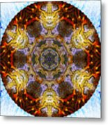 10481 End Of Days 2 Kaleidoscope Metal Print