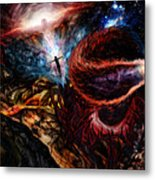 End Of Space Metal Print