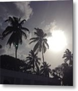 End Of The Day In The Islands Metal Print