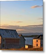 End Of The Day In Trinity Bay, Newfoundland Metal Print