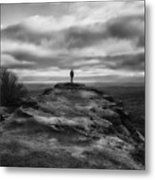 End Of The Earth Metal Print