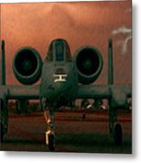 End Of The Mission Metal Print