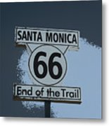 End Of The Trail 2 Metal Print