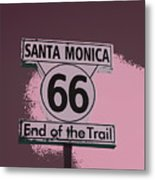 End Of The Trail 5 Metal Print