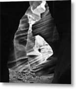 End Of The Tunnel Light Metal Print
