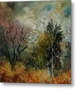 End Of Winter Metal Print