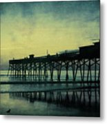 End To The Day Metal Print