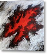 Endeavor Abstract Expressionism Metal Print