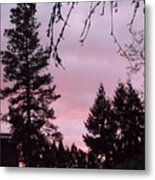 Ending A Glorious Day Metal Print