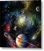 Endless Beauty Of The Universe Metal Print