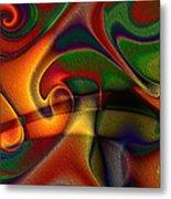 Energetic Metal Print