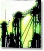Energize Field Metal Print