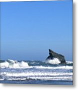 Energizing Waves Metal Print