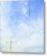 Energy Above And Below Two  Metal Print