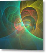 Energy Of The Good Metal Print