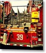 Engine 39 - New York City Fire Truck Metal Print