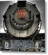 Engine 460 Front And Center Metal Print