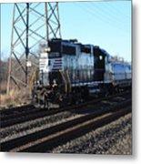 Engine 5664 Passing Bye Metal Print