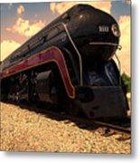 Engine #611 In Ole Town Petersburg Virginia Metal Print
