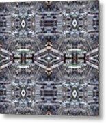 Engine Chrome Metal Print