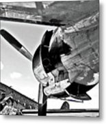 Engine Lcokheed Constellation Metal Print