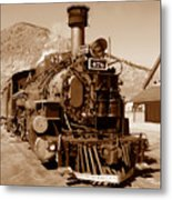 Engine Number 478 Metal Print