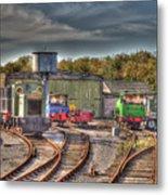 Engine Sheds Quainton Road Buckinghamshire Railway Metal Print