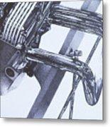 Engine2 Metal Print