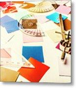 Engineering Colour Rules Metal Print