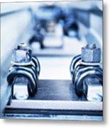 Engineering Metal Parts Metal Print
