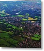 An Aerial Vision Of England Metal Print