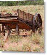 Engles Wagon Metal Print