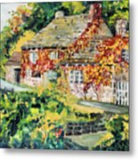 English Autumn Metal Print