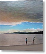 English Bay Vancouver Metal Print