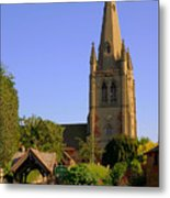 English Country Church Metal Print