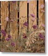 English Garden In Pastels Metal Print