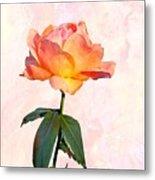 English Garden Rose Metal Print