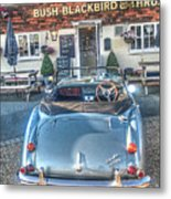 English Pub English Car Metal Print