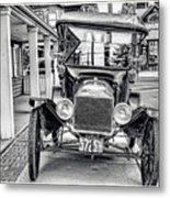 Englishtown New Jersey Antique Classic Car Metal Print
