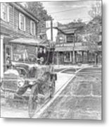 Englishtown New Jersey Classic Car Metal Print