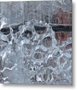 Engrenage De Glace / Iced Gear Metal Print