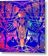 Enigma In Abstraction Metal Print