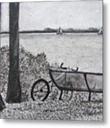 Enjoy The View Metal Print