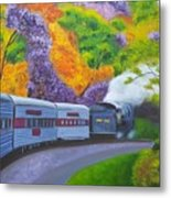 'enjoy Your Journey As Much As Your Destination' Metal Print