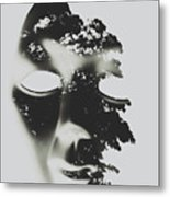 Enlightenment Within Metal Print