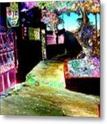 Ensenada Street Scene Metal Print
