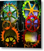 Enter Chained Melody  Metal Print